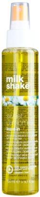 Milk Shake Sweet Camomile pflegender nicht-ausspülbarer Conditioner für blonde Haare