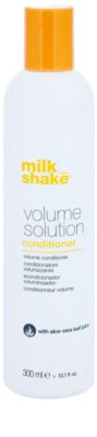 Milk Shake Volume Solution балсам за нормална към фина коса за обем и форма