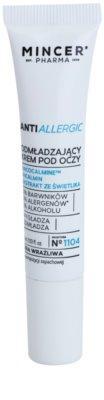 Mincer Pharma AntiAllergic N° 1100 przeciwzmarszczkowy krem pod oczy do skóry wrażliwej i podrażnionej