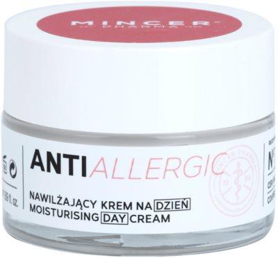 Mincer Pharma AntiAllergic N° 1200 crema de zi hidratanta impotriva rosetii si a vizibilitatii venelor