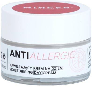 Mincer Pharma AntiAllergic N° 1200 krem nawilżający na dzień na rozszerzone i popękane naczynka