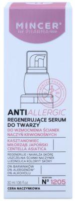 Mincer Pharma AntiAllergic N° 1200 regenerační sérum na rozšířené a popraskané žilky 2