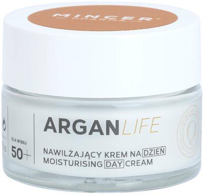 Mincer Pharma ArganLife N° 800 50+ crema de zi hidratanta