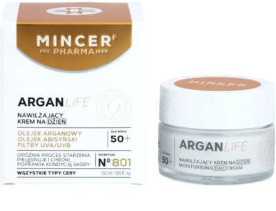 Mincer Pharma ArganLife N° 800 50+ hydratační denní krém 1