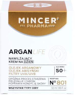 Mincer Pharma ArganLife N° 800 50+ crema de zi hidratanta 2