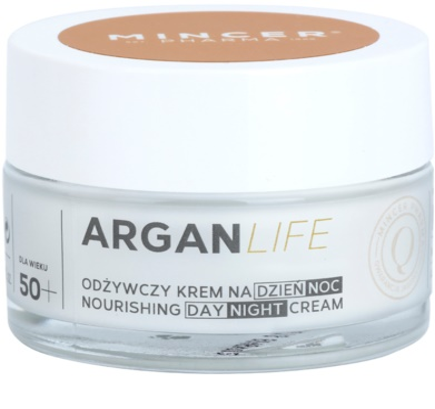Mincer Pharma ArganLife N° 800 50+ подхранващ крем