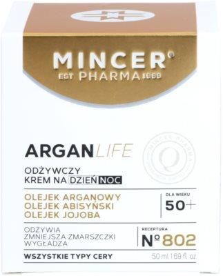 Mincer Pharma ArganLife N° 800 50+ creme nutritivo 2