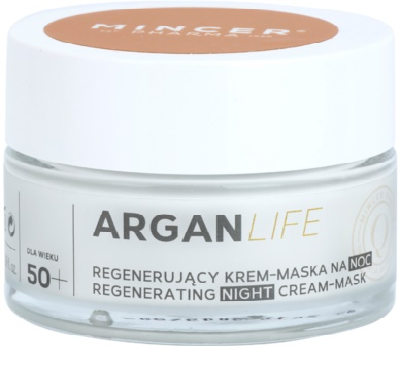 Mincer Pharma ArganLife N° 800 50+ регенериращ нощен крем-маска