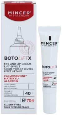 Mincer Pharma BotoLiftX N° 700 40+ creme lifting para contornos de olhos e lábios 1