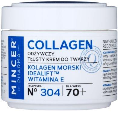 Mincer Pharma Collagen N° 300 odżywczy krem przeciwzmarszczkowy 70+