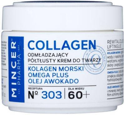 Mincer Pharma Collagen N° 300 crema pentru reintinerire 60+