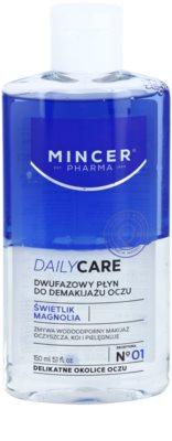 Mincer Pharma Daily Care N° 00 dvofazni odstranjevalec ličil za okoli oči