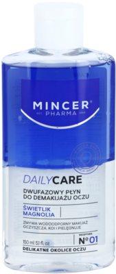 Mincer Pharma Daily Care N° 00 Zwei-Phasen Make up - Entferner für die Augen