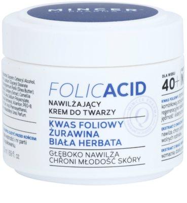 Mincer Pharma Folic Acid N° 450 зволожуючий крем для шкіри 40+