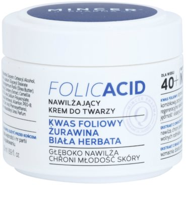 Mincer Pharma Folic Acid N° 450 crema de fata hidratanta 40+