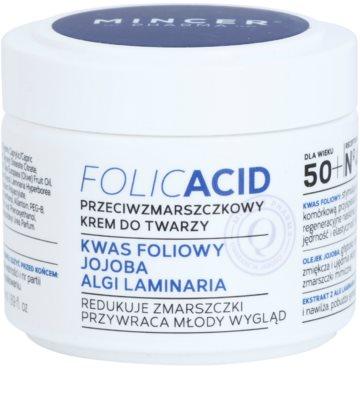 Mincer Pharma Folic Acid N° 450 crema antirid 50+