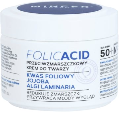 Mincer Pharma Folic Acid N° 450 Creme antirrugas 50+