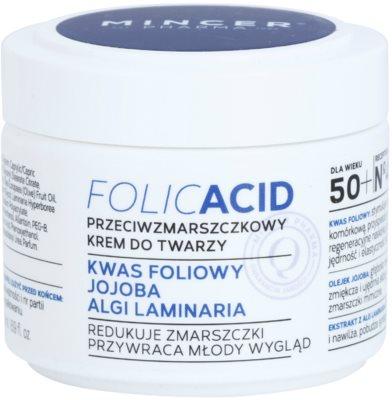 Mincer Pharma Folic Acid N° 450 Gesichtscreme gegen Falten 50+