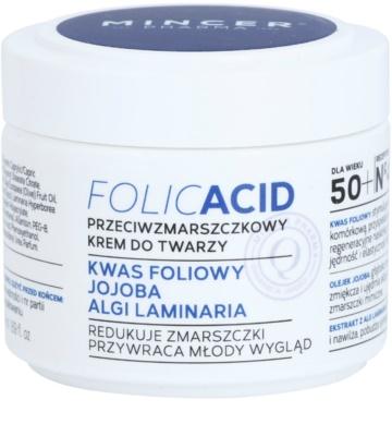 Mincer Pharma Folic Acid N° 450 ránctalanító arckrém 50+