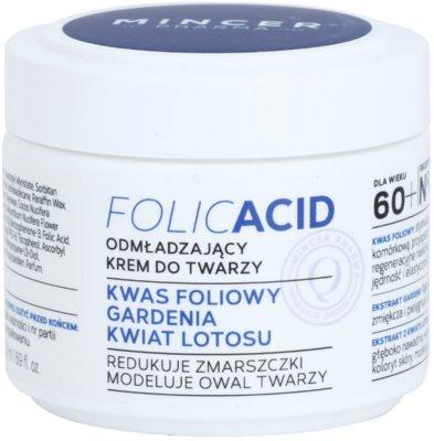 Mincer Pharma Folic Acid N° 450 crema facial rejuvenecedora 60+