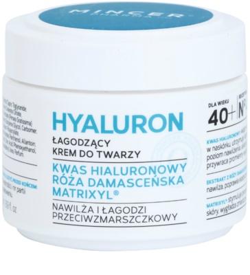 Mincer Pharma Hyaluron N° 400 gladilna krema 40+