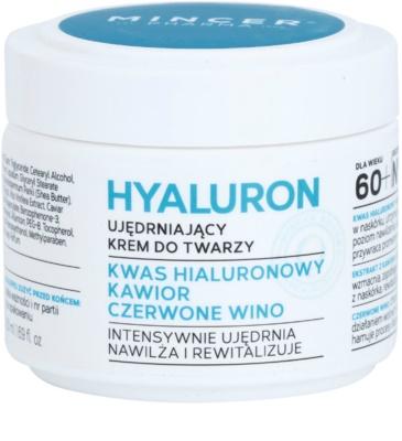 Mincer Pharma Hyaluron N° 400 зволожуючий та зміцнюючий крем 60+