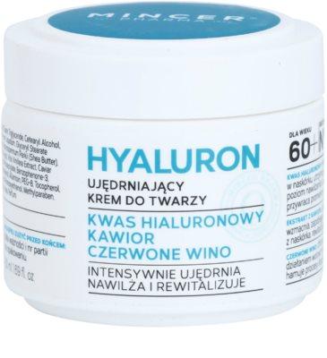 Mincer Pharma Hyaluron N° 400 creme hidratante e reafirmante 60+