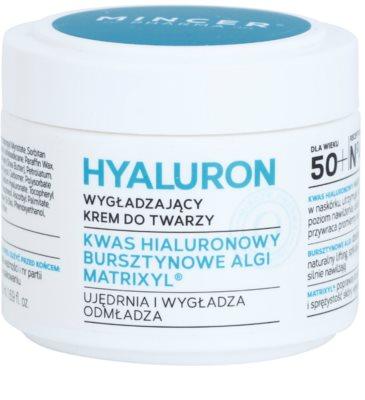 Mincer Pharma Hyaluron N° 400 розгладжуючий крем 50+