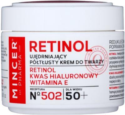 Mincer Pharma Retinol N° 500 krem ujędrniający 50+