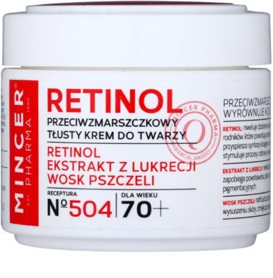 Mincer Pharma Retinol N° 500 Anti-Faltencreme 70+
