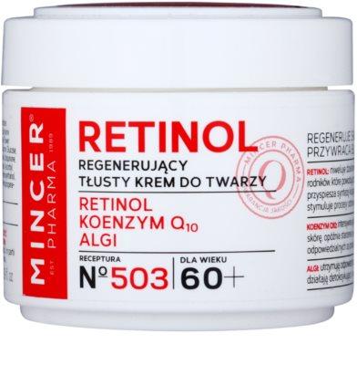 Mincer Pharma Retinol N° 500 regenerační krém proti vráskám 60+