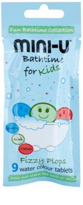 Mini-U Bathtime tabletes de banho para crianças