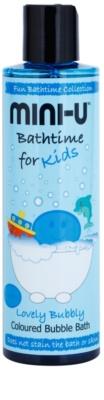 Mini-U Bathtime espuma de banho colorida para crianças