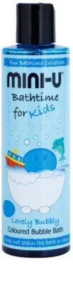 Mini-U Bathtime espuma de baño con color para niños