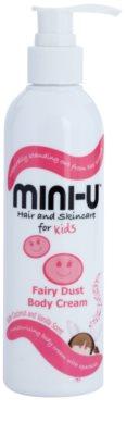 Mini-U Hair and Skincare crema hidratante para niños con purpurina
