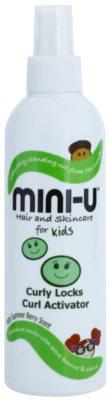 Mini-U Hair and Skincare otroško pršilo za kodraste lase