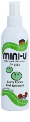 Mini-U Hair and Skincare spray para cabello rizado para niños