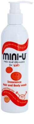 Mini-U Hair and Skincare creme de banho para bebé para corpo e cabelo