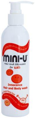 Mini-U Hair and Skincare dětský sprchový krém na tělo a vlasy