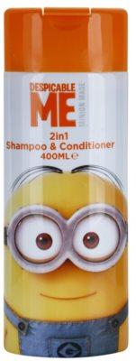 Minions Hair champô e condicionador 2 em 1