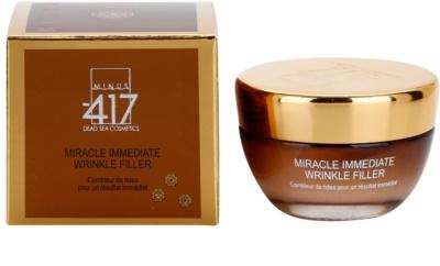 Minus 417 Miracle Immediate vyplňující krém na vrásky 1