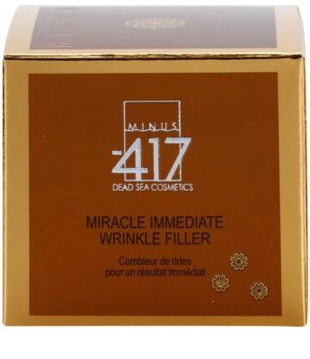 Minus 417 Miracle Immediate vyplňující krém na vrásky 3