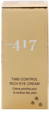 Minus 417 Time-Control výživný krém na oči 2