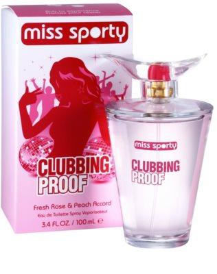 Miss Sporty Clubbing Proof eau de toilette para mujer 1