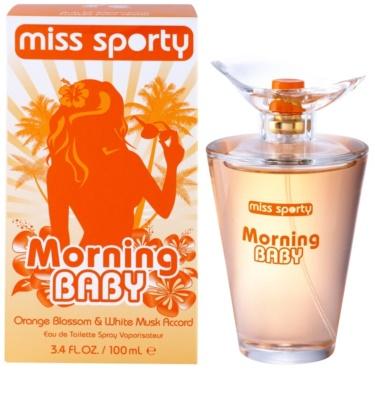 Miss Sporty Morning Baby Eau de Toilette para mulheres