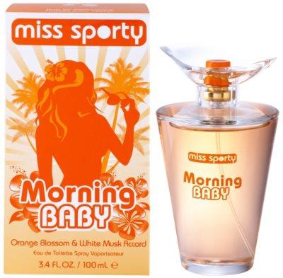 Miss Sporty Morning Baby toaletná voda pre ženy