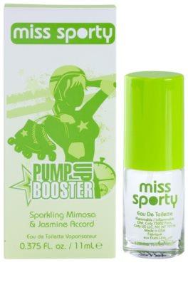 Miss Sporty Pump Up Booster toaletní voda pro ženy