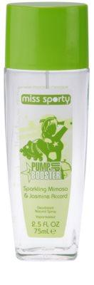 Miss Sporty Pump Up Booster deodorant s rozprašovačem pro ženy