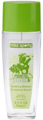 Miss Sporty Pump Up Booster desodorizante vaporizador para mulheres