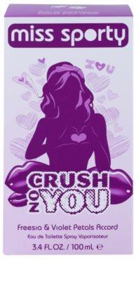 Miss Sporty Crush on You Eau de Toilette pentru femei 4